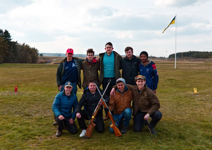 Easter Bisley Team Photo